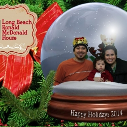 Ronald Mcdonalds House Long Beach Christmas 2014